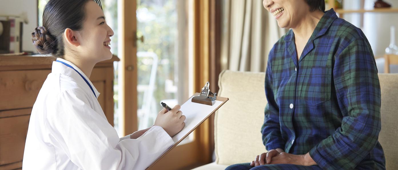 看護師の働き易さは「 訪問件数が1日5件ある」働き方です。